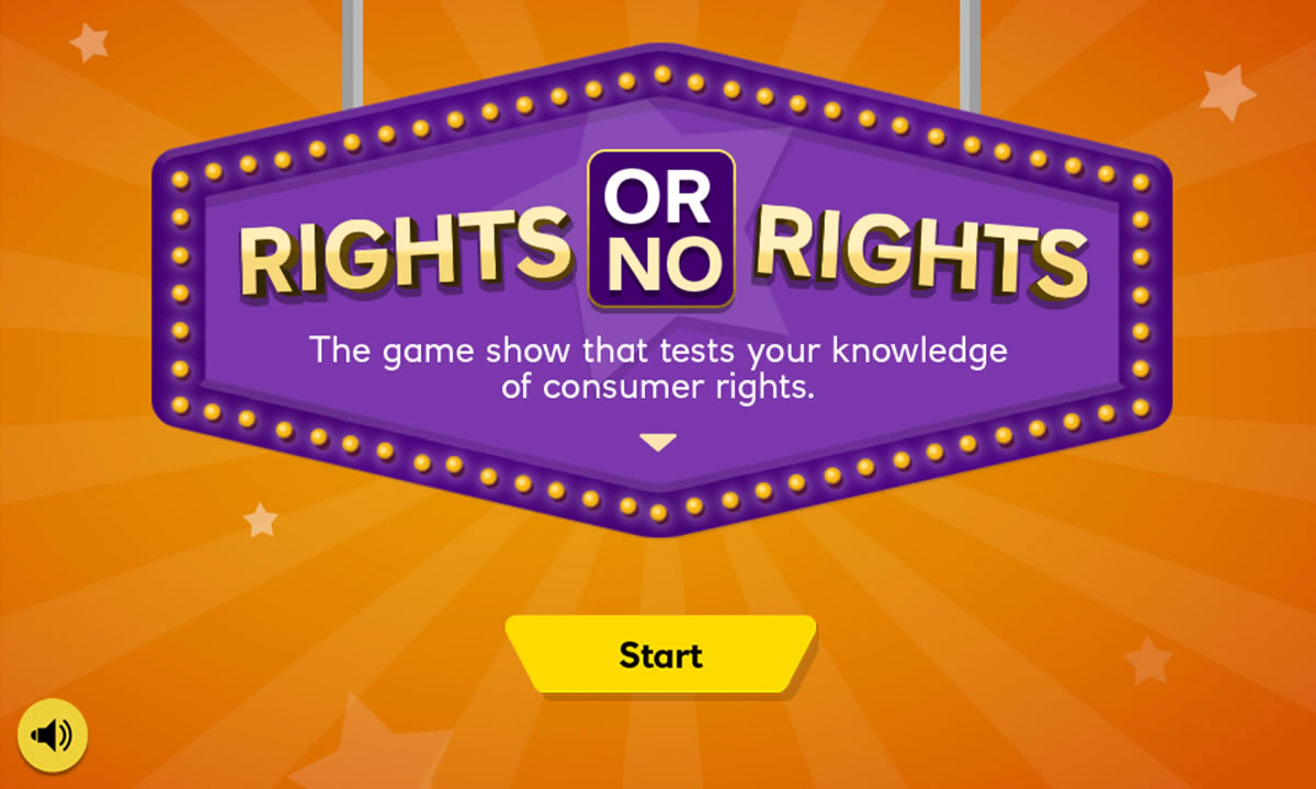 Interactive for What are my consumer rights?