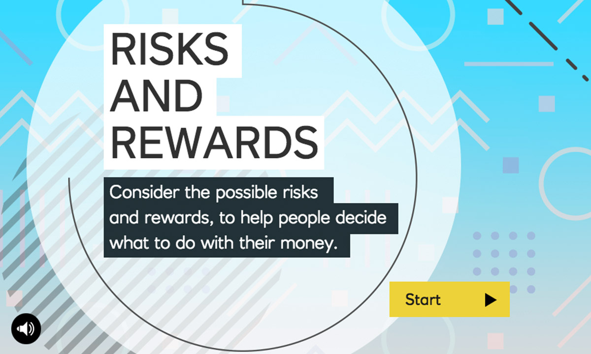 Interactive for How can I understand financial risks and rewards?
