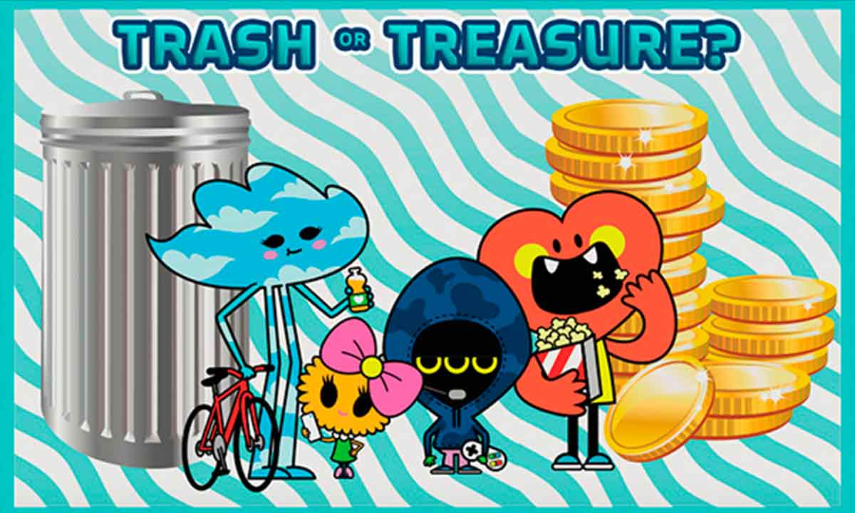 Trash or treasure? game