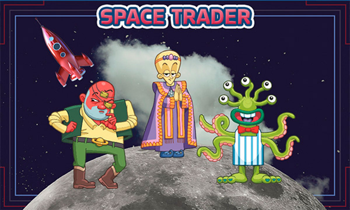 Space trader game