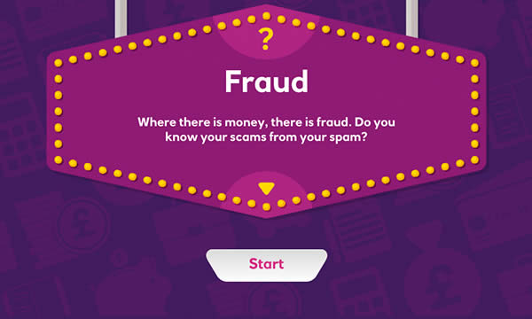 Fraud interactive activity