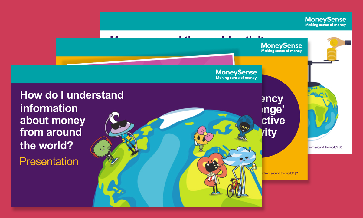 Presentation for How do I understand information about money from around the world?