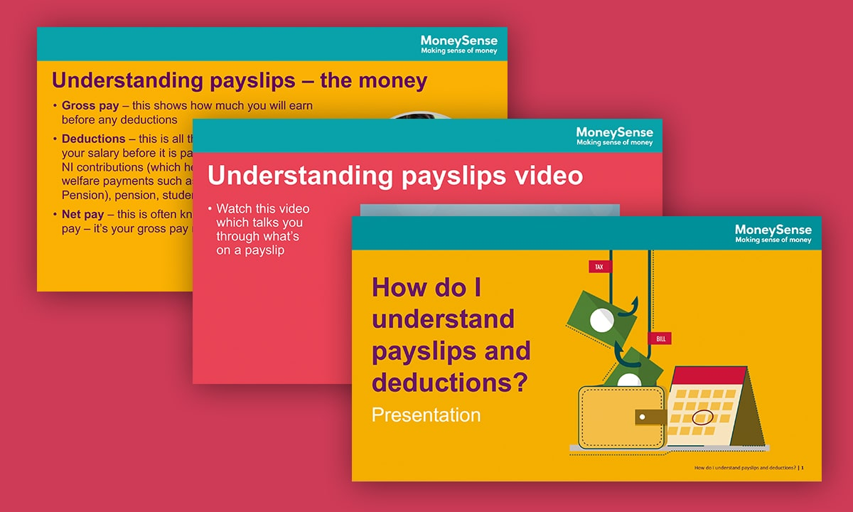 Presentation for How do I understand payslips and deductions?