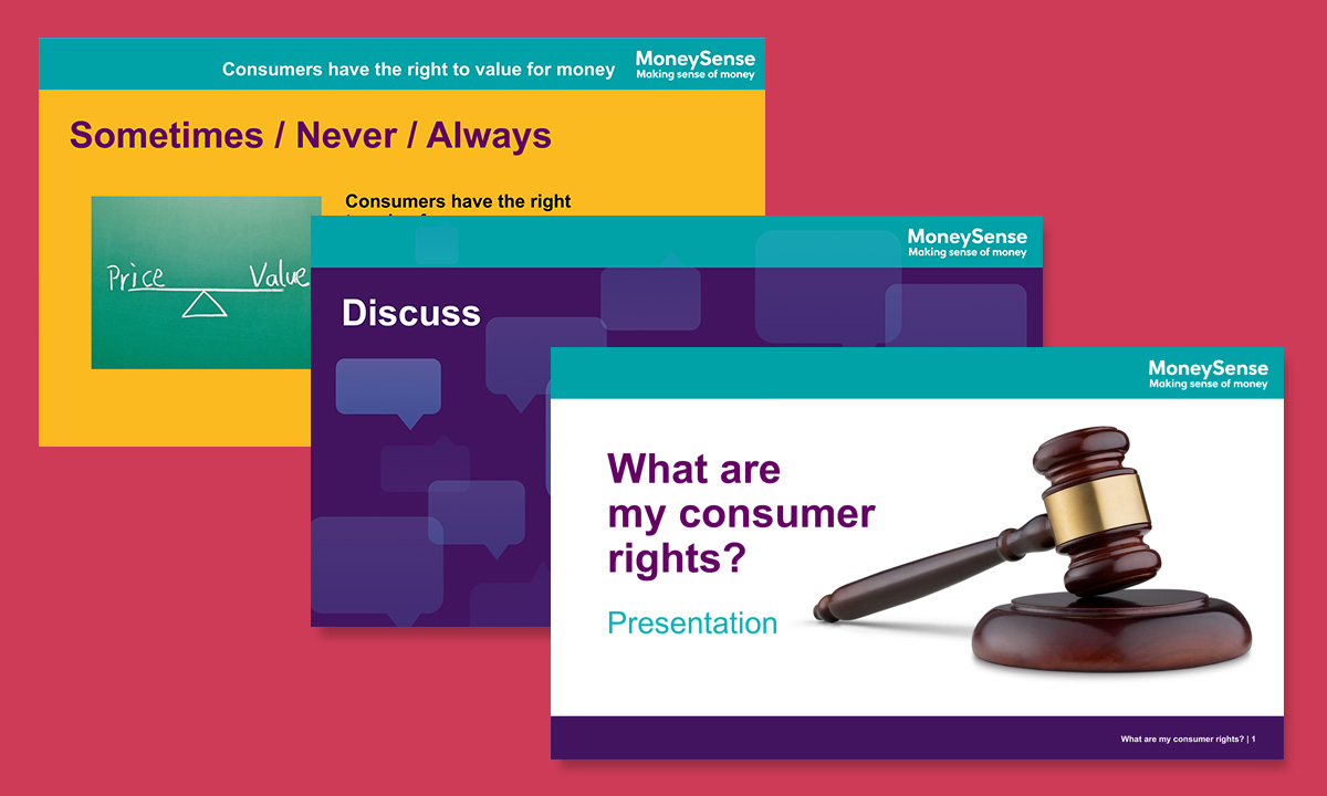 Presentation for What are my consumer rights?