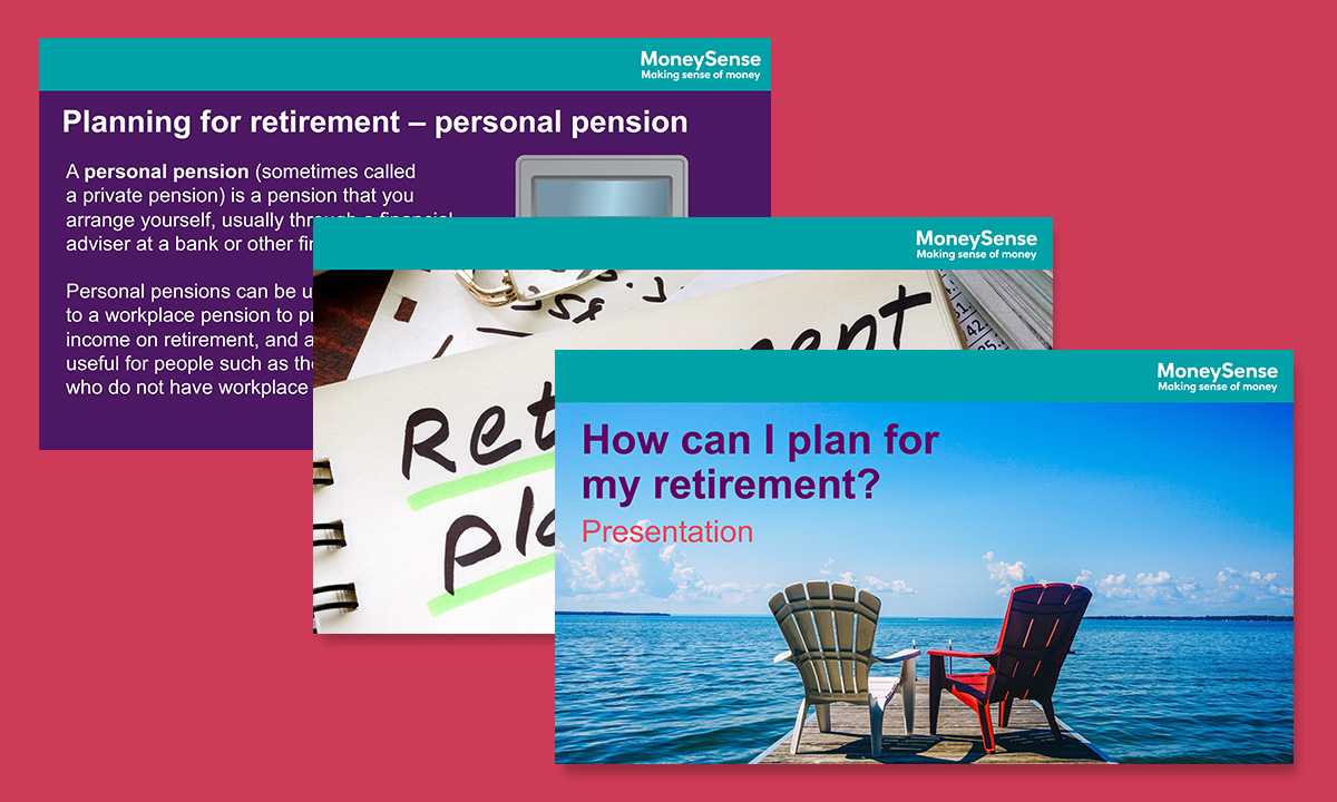 Presentation for How can I plan for my retirement?