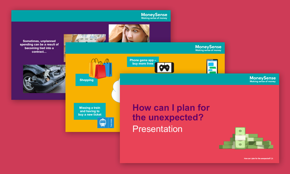 Presentation for How can I plan for the unexpected?