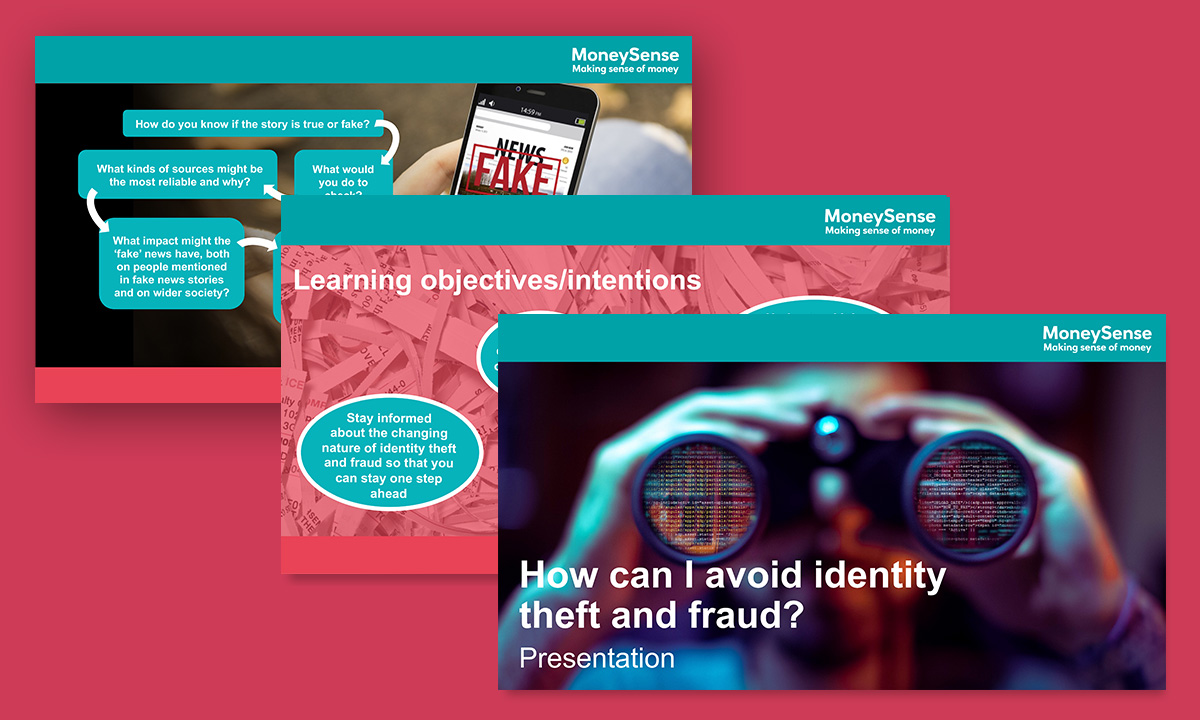 Presentation for How can I avoid identity theft and fraud?